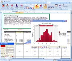 Spreadsheet Components Risk Risk Analysis Software Using Monte Carlo Simulation For