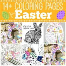 easter coloring pages grown ups red ted art u0027s blog