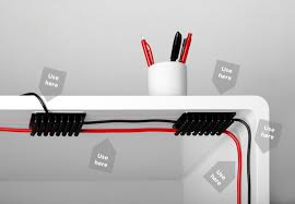passe cable de bureau cablox organise vos fils geeknewz fr