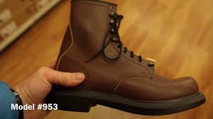 reviews red wing work boots most comfortable work boots youtube