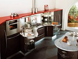 Curved Kitchen Island Designs by Plain Modern Curved Kitchen Island Countertop Style Italian Design