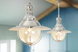 Fishermans Pendant Light Gaston Large Fisherman S Contemporary Chrome Pendant Light My
