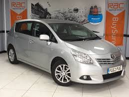 used toyota verso tr for sale motors co uk