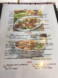 cuisine viet menu of viet cuisine lc restaurant huntsville alabama