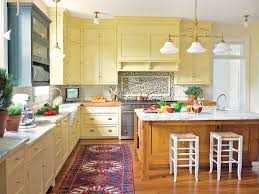 tremendous yellow kitchen cabinets nice ideas the 25 best ideas