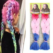 pictures if braids with yaki hair ombre expression afro kanekalon braiding hair 60cm long synthetic
