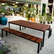 Handmade Wooden Outdoor Furniture by 38 Best Wood U0026 Steel Images On Pinterest Architecture Tables