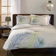 Peacock Feather Comforter Set Peacock Bedding For A Luxury All Modern Home Designs