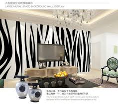 Black And White Zebra Bedrooms Compare Prices On Zebra Bedroom Wallpaper Online Shopping Buy Low