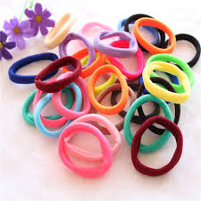 hair holders new fashion 10pcs lot candy fluorescence colored hair holders high
