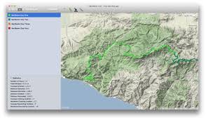 Santa Monica College Campus Map Backbone Trail In The Santa Monica Mountains