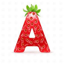 letter a designs format