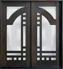 modern exterior front doors mahogany solid wood front entry door double doors pinterest
