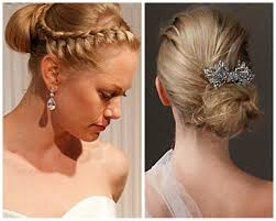 Formal Hairstyles For Medium Straight Hair by Glamorous Wedding Day Medium Lenght Straight Hairstyles For Bride