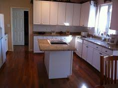 off white cabinets with brazilian cherry floors google search