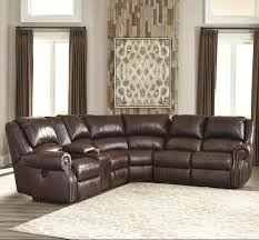 Sectional Leather Sofas With Recliners by Furniture Wide Recliner Ashley Leather Sofa Recliner Ashley
