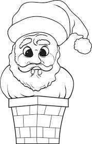 free printable santa claus coloring kids 7