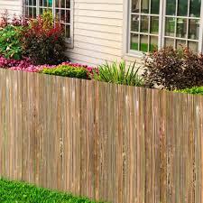 backyard bamboo fence roll u2014 best home decor ideas natural