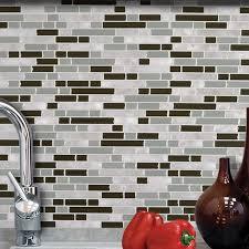 Stick Wall Smart Tiles Mosaik Bellagio Grigio 10 06