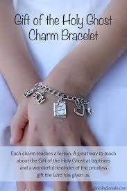 baptism charm bracelet lds baptism talk gift jpg