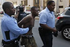 report finds black philly police officers most likely to shoot at