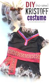 Frozen Costume Halloween Awesome Sew Diy Disney Frozen Kristoff Costume