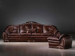cherry brown leather sofa furniture awesome rustic leather sofa design ideas made 4 decor