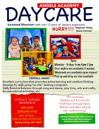 daycare open house flyer template yourweek a96e75eca25e