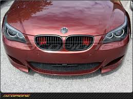 matte red bmw scopione com scopione bmw 04 10 e60 e61 5 series black line