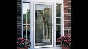 glass basement doors storm door beveled glass nickel lockset with new ideas double