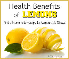 health benefits of lemons u0026 homemade lemon cold chews