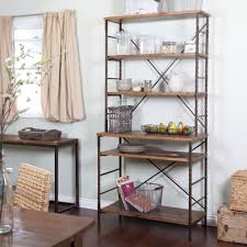 interior fantastic small kitchen storage ideas with wooden rack