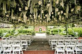 outdoor wedding venues houston twighlight inspired ceremony decor river oaks garden club