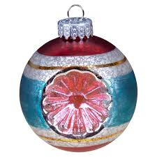 shop for the 65mm vintage mercury round holiday ornaments by