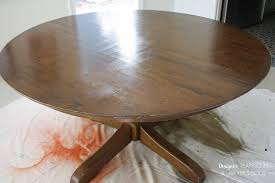 How To Refinish A Table Without Sanding Or Stripping Designer - Refinish dining room table