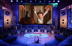 home theater stage that is a real home cinema setup house pinterest