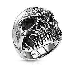urban skeleton ring holder images Biker rings bodycandy jpg