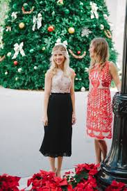 style our two favorite anthropologie holiday dresses palm beach