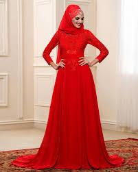 coloured dress arabic muslim a line wedding dresses colour sleeve high