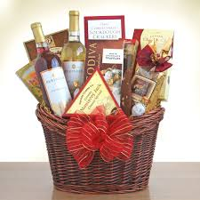 cheese and cracker gift baskets marvelous moscato gourmet gift basket hayneedle