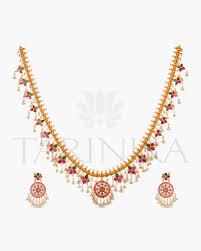 long necklace set images Adaa long necklace set tarinika jpg