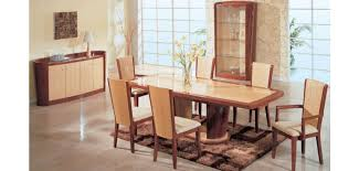 two tone dining table set gabriella contemporary two tone large dining room set