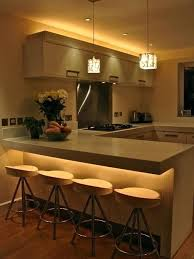 kitchen counter lighting ideas kitchen cabinet lighting ideas counter design intended for