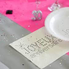 vaisselle jetable fete serviette ja grise déco table vaisselle jetable féezia