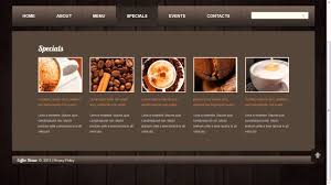 informational website templates coffee shop website template youtube