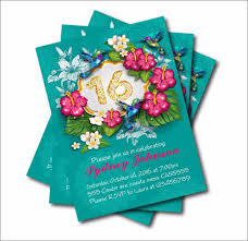 Sweet 16 Birthday Invitation Cards Online Buy Wholesale Personal Birthday Invitations From China