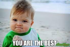 Best Meme - you are the best meme success kid original 81058 memeshappen