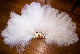 large feather fans steunk burlesque fans steunk family