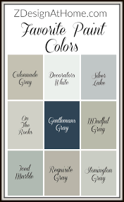 zdesign at home favorite paint colors zdesign at home