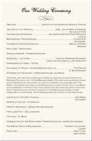 wedding ceremony bulletin template wedding program exles catholic wedding program wedding